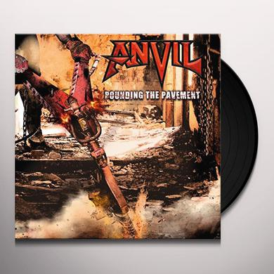 Anvil POUNDING THE PAVEMENT Vinyl Record
