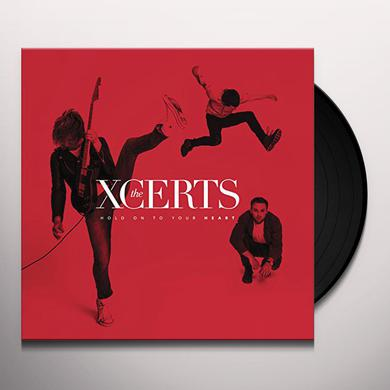 Xcerts HOLD ON TO YOUR HEART Vinyl Record