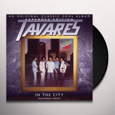 Tavares IN THE CITY Vinyl Record