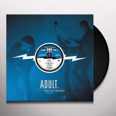 ADULT. LIVE AT THIRD MAN RECORDS Vinyl Record