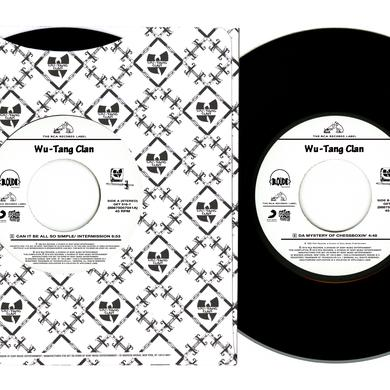 Wu-Tang Clan CAN IT BE ALL SO SIMPLE / DA MYSTERY OF CHESSBOXIN Vinyl Record