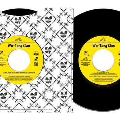 WU TANG CLAN AIN'T NOTHIN TO F WIT / C.R.E.A.M. Vinyl Record