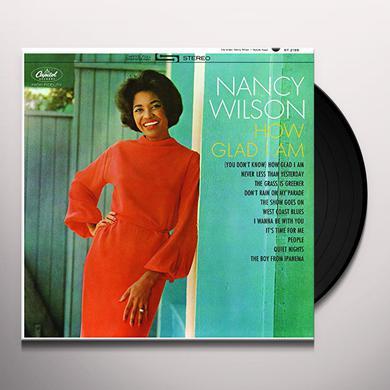 Nancy Wilson HOW GLAD I AM Vinyl Record