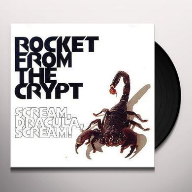 Rocket From The Crypt SCREAM DRACULA SCREAM Vinyl Record