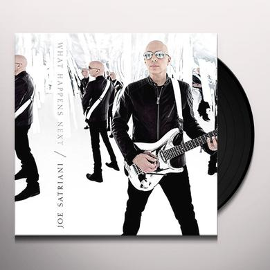 Joe Satriani WHAT HAPPENS NEXT Vinyl Record
