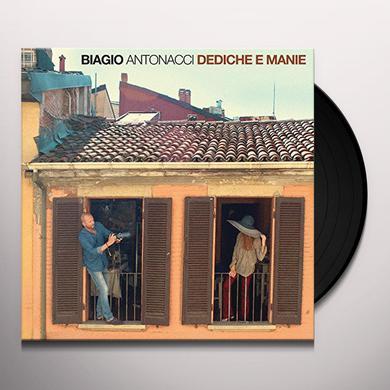 Biagio Antonacci DEDICHE E MANIE Vinyl Record