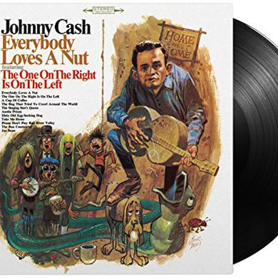 Johnny Cash EVERYBODY LOVES A NUT Vinyl Record