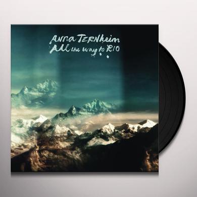 Anna Ternheim ALL THE WAY TO RIO Vinyl Record