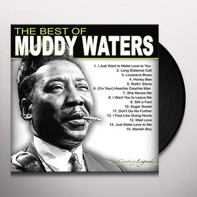 BEST OF MUDDY WATERS Vinyl Record