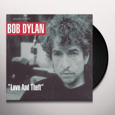 Bob Dylan LOVE & THEFT Vinyl Record