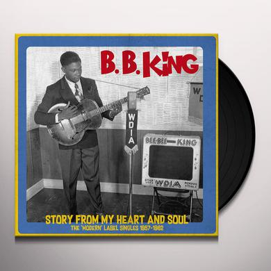 B.B. King STORY FROM MY HEART & SOUL Vinyl Record