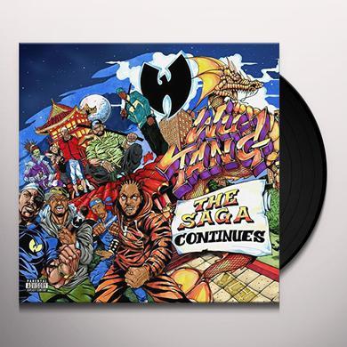 Wu-Tang Clan SAGA CONTINUES Vinyl Record