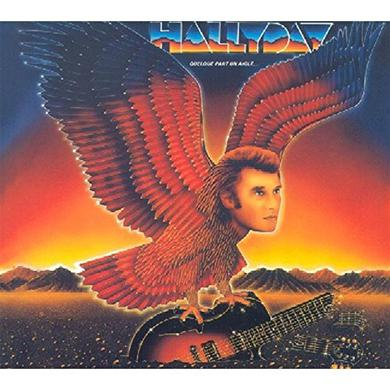 Johnny Hallyday QUELQUE PART UN AIGLE Vinyl Record