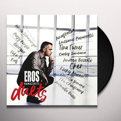 Eros Ramazzotti EROS DUETS Vinyl Record