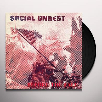 Social Unrest BEFORE THE FALL Vinyl Record