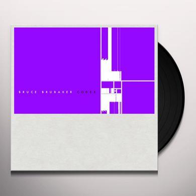 Bruce Brubaker CODEX Vinyl Record