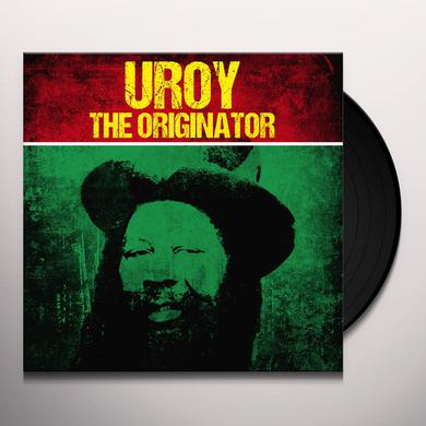 U-Roy ORIGINATOR Vinyl Record