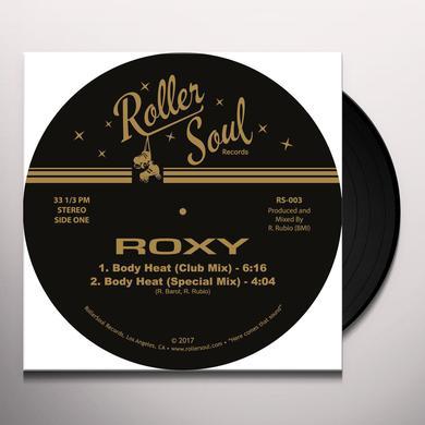 Roxy BODY HEAT / MIDNIGHT LOVER Vinyl Record