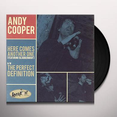 Andy Cooper HERE COMES ANOTHER ONE / PERFECT DEFINITION Vinyl Record