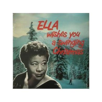 Ella Fitzgerald ELLA WISHES YOU A SWINGING CHRISTMAS Vinyl Record