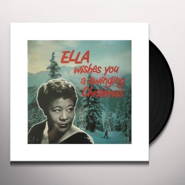 ella fitzgerald ella wishes you a swinging christmas vinyl record - Fitzgerald Christmas
