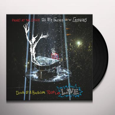 Panic At The Disco ALL MY FRIENDS WE'RE GLORIOUS: DEATH OF A BACHELOR Vinyl Record