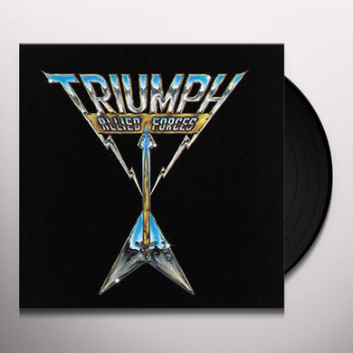Triumph ALLIED FORCES Vinyl Record