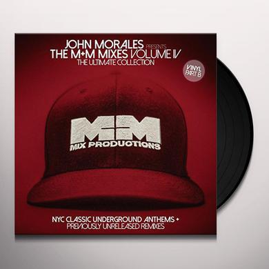 JOHN MORALES PRESENTS M+M MIXES 4 - ULTIMATE COLL Vinyl Record