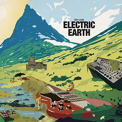 Gin Lady ELECTRIC EARTH Vinyl Record