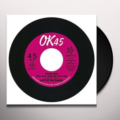 Little Richard POOR DOG / LITTLE BIT OF SOMETHING Vinyl Record