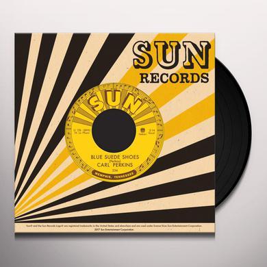 Carl Perkins BLUE SUEDE SHOES / HONEY DON'T! Vinyl Record