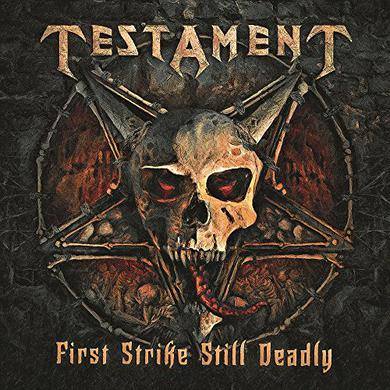 Testament FIRST STRIKE STILL DEADLY Vinyl Record