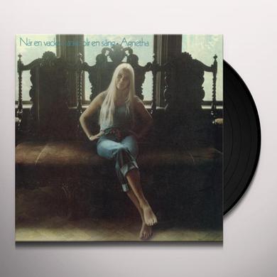 Agnetha Faltskog NAR EN VACKER TANKE BLIR EN SANG Vinyl Record