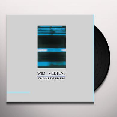 Wim Mertens STRUGGLE FOR PLEASURE Vinyl Record