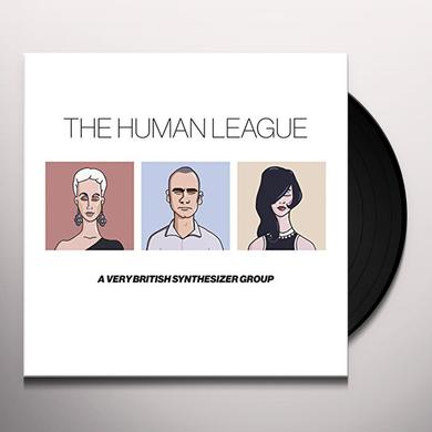 Human League ANTHOLOGY: A VERY BRITISH SYNTHESIZER GROUP Vinyl Record