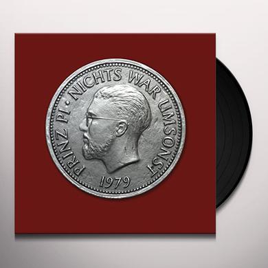 Prinz Pi NICHTS WAR UMSONST Vinyl Record