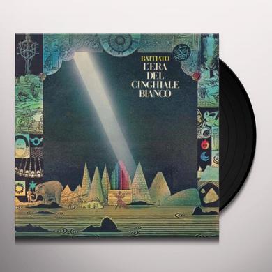 Franco Battiato L'ERA DEL CINGHIALE BIANCO Vinyl Record