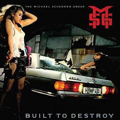 Michael Schenker BUILT TO DESTROY Vinyl Record