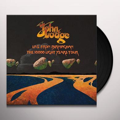 John Lodge LIVE FROM BIRMINGHAM THE 10,000 LIGHT YEARS TOUR Vinyl Record