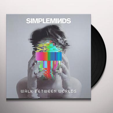 Simple Minds WALK BETWEEN WORLDS Vinyl Record
