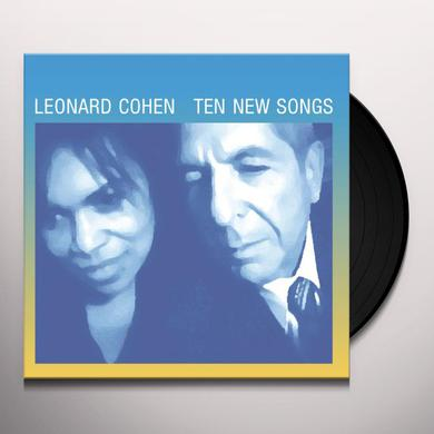 Leonard Cohen TEN NEW SONGS Vinyl Record