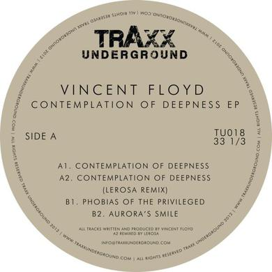 Vincent Floyd CONTEMPLATION OF DEEPNESS Vinyl Record