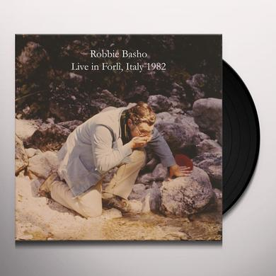 Robbie Basho LIVE IN FORLI Vinyl Record