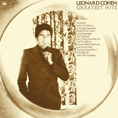 Leonard Cohen GREATEST HITS Vinyl Record