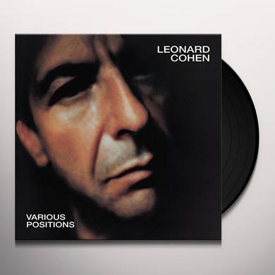 Leonard Cohen VARIOUS POSITIONS Vinyl Record