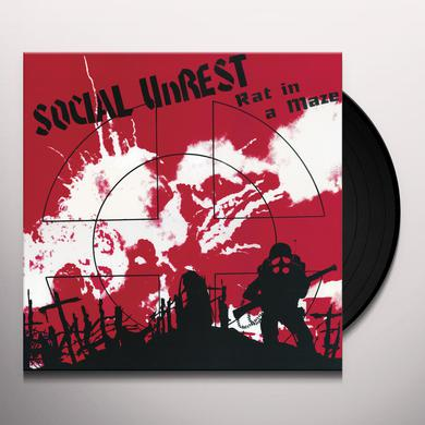 Social Unrest RAT IN A MAZE Vinyl Record