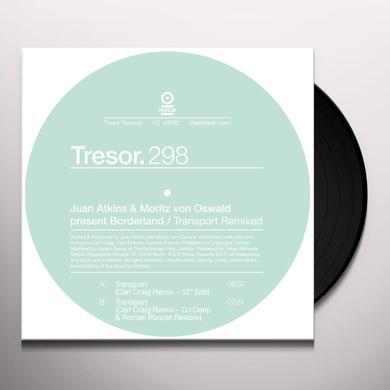 Juan Atkins & Moritz Von Oswald TRANSPORT REMIXED Vinyl Record