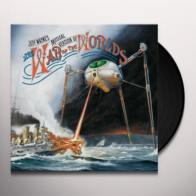 Jeff Wayne WAR OF THE WORLDS Vinyl Record