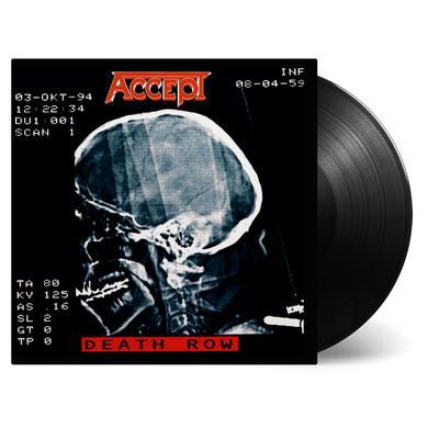 Accept DEATH ROW (RED VINYL) Vinyl Record