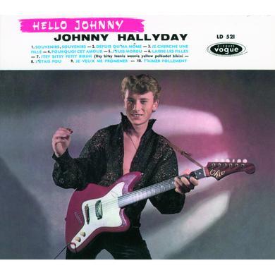Johnny Hallyday HELLO JOHNNY Vinyl Record